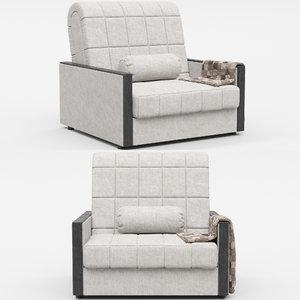 hoff milena armchair 3D model