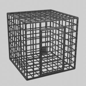 dark cage 3D model