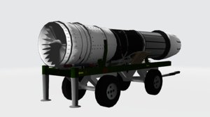 3D general electric f414 f a-18e