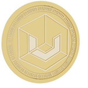 universa gold coin 3D