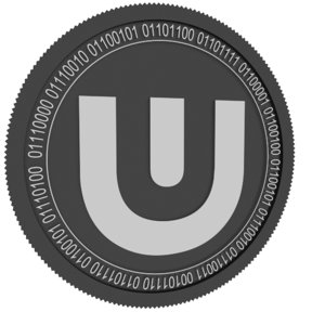 3D ultra black coin