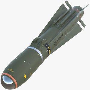3D agm-65 maverick