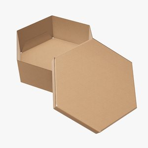 3D packaging corrugated cardboard