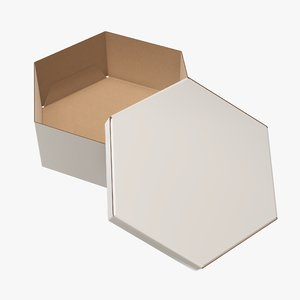 packaging corrugated cardboard 3D model
