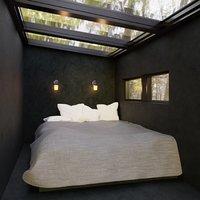Hidden Bedroom in Nature