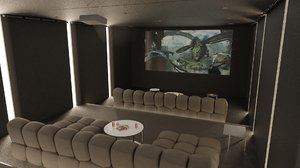 3D home room