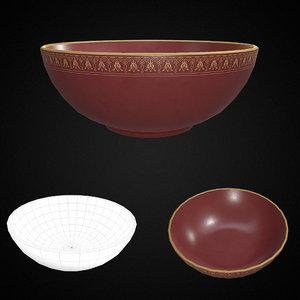 salad bowl pbr model