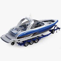 Formula 350 FX CBR Luxury Sport Boat and Trailer Phoenix