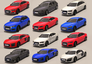 3D c cars pack