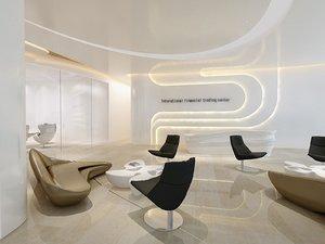 3D lobby lounge furniture headquarter
