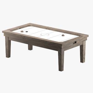 air hockey table furniture model