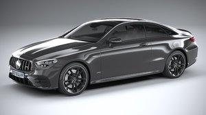 mercedes coupe 2021 3D model