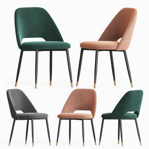 3D eva dining chair coco model
