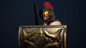 3D gladiator unreal unity
