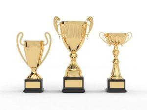 trophy cup 3D