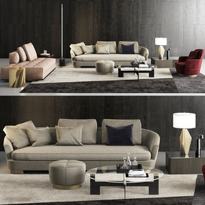 minotti grand jacques sofa model