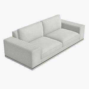 seat sofa modern 3D