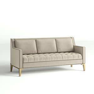 3D hilton sofa