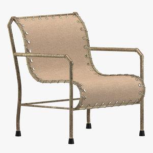 3D model chair 138