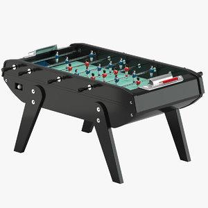3D foosball table 01