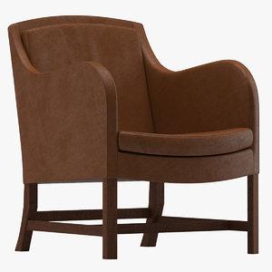 3D model mix chair kaare klint
