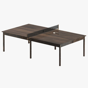 ping pong table 01 3D model