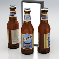 Beer Bottle Blue Moon Belgian White 330ml 2020