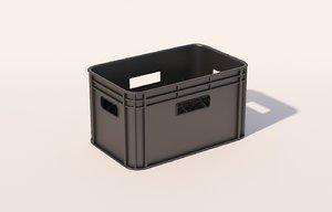 3D beer crate