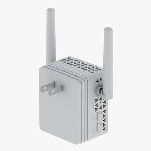 3D model netgear net