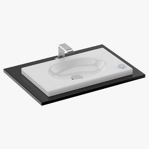 toto lavatory 3D model