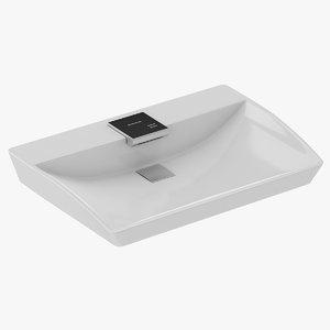 3D toto lavatory model