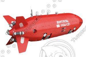 deep-sea vehicle vityaz 3D