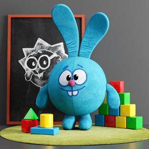 3D toy set