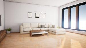 photo-realistic archviz interior realtime 3D