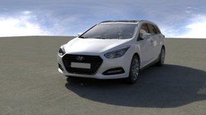 3D car auto vehicle