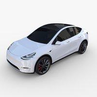 Tesla Model Y White