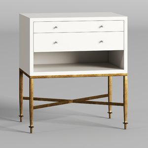 3D nightstand cathryn model
