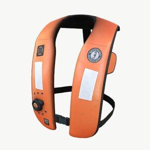 real-time mustang hammar lifejacket 3D