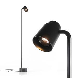 reel lamp 3D model