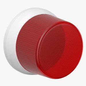 3D alarm light