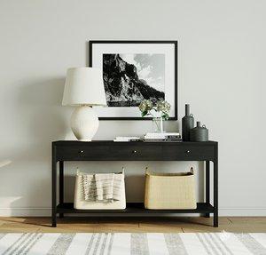 console lamp 3D model