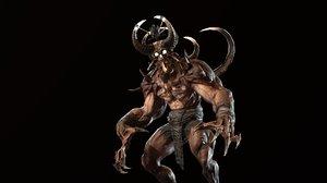 character demon 3D model
