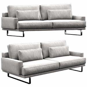 3D interface rex sofa model