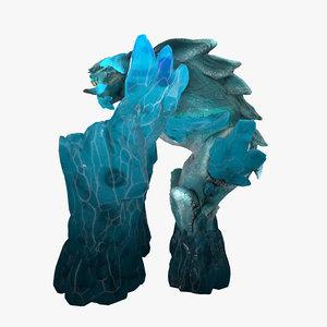 3D ice elemental model