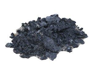 3D model pile ashes
