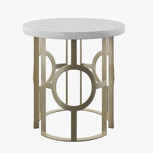 fairfield labella chairside table 3D model