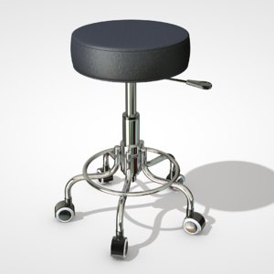 rolling stool model