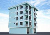 Ornate building 3d model 8