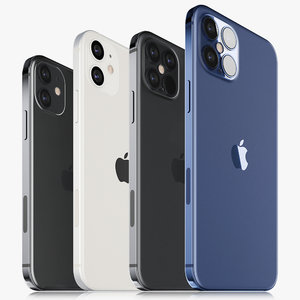 apple iphone 12 mini 3D model