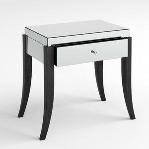 3D riga nightstand